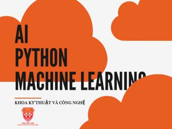 Thông báo mở lớp Python, Machine Learning, AI